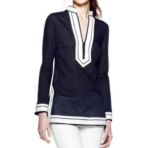 Navy Tory Burch Tunic